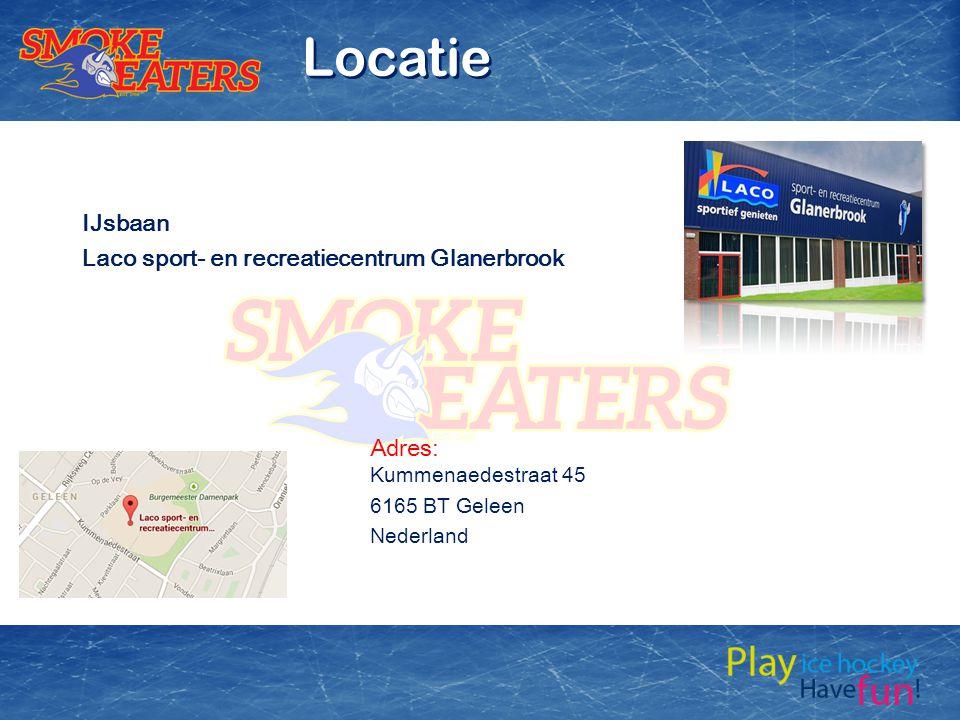 IJsbaan Laco sport- en recreatiecentrum Glanerbrook Adres: Kummenaedestraat 45 6165 BT Geleen Nederland Locatie