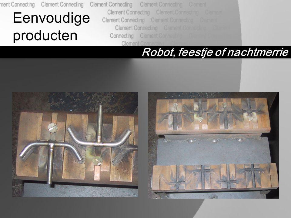 Robot, feestje of nachtmerrie Eenvoudige producten