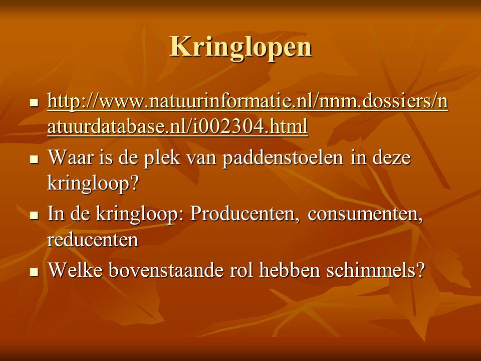 Kringlopen http://www.natuurinformatie.nl/nnm.dossiers/n atuurdatabase.nl/i002304.html http://www.natuurinformatie.nl/nnm.dossiers/n atuurdatabase.nl/