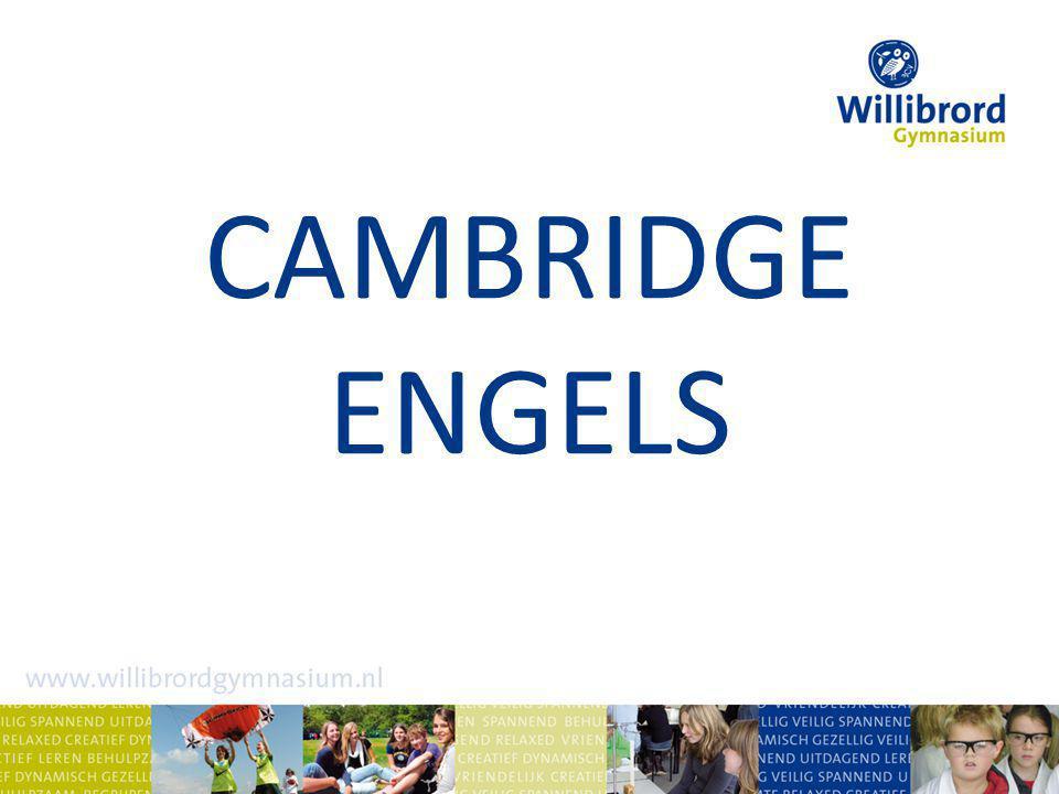 Waarom Cambridge Engels.Een goede beheersing van het Engels is onontbeerlijk.