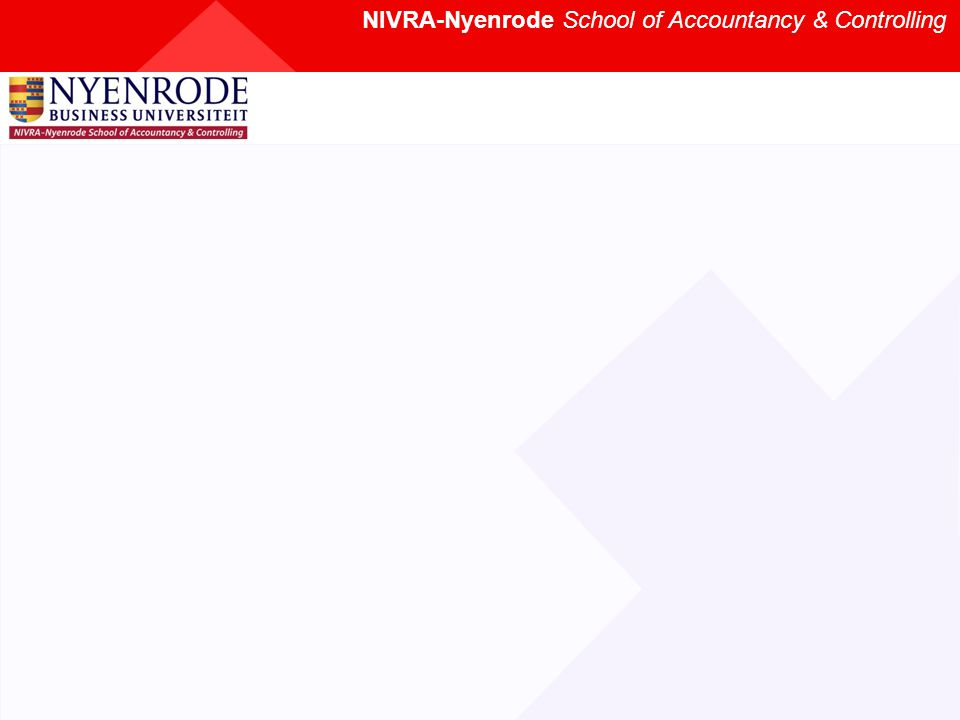 NIVRA-Nyenrode School of Accountancy & Controlling