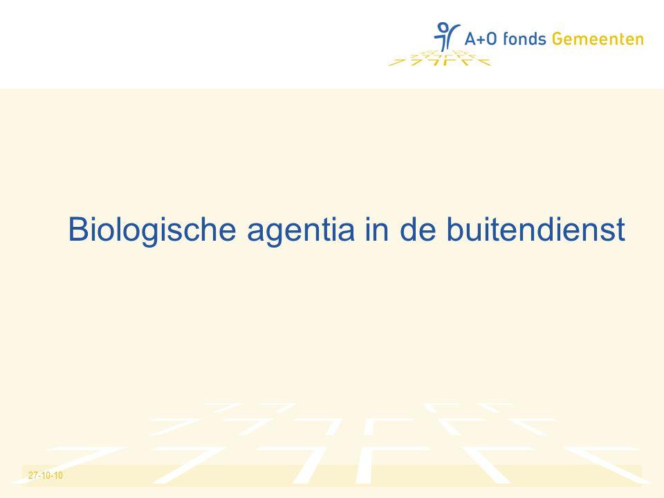 27-10-10 Biologische agentia in de buitendienst