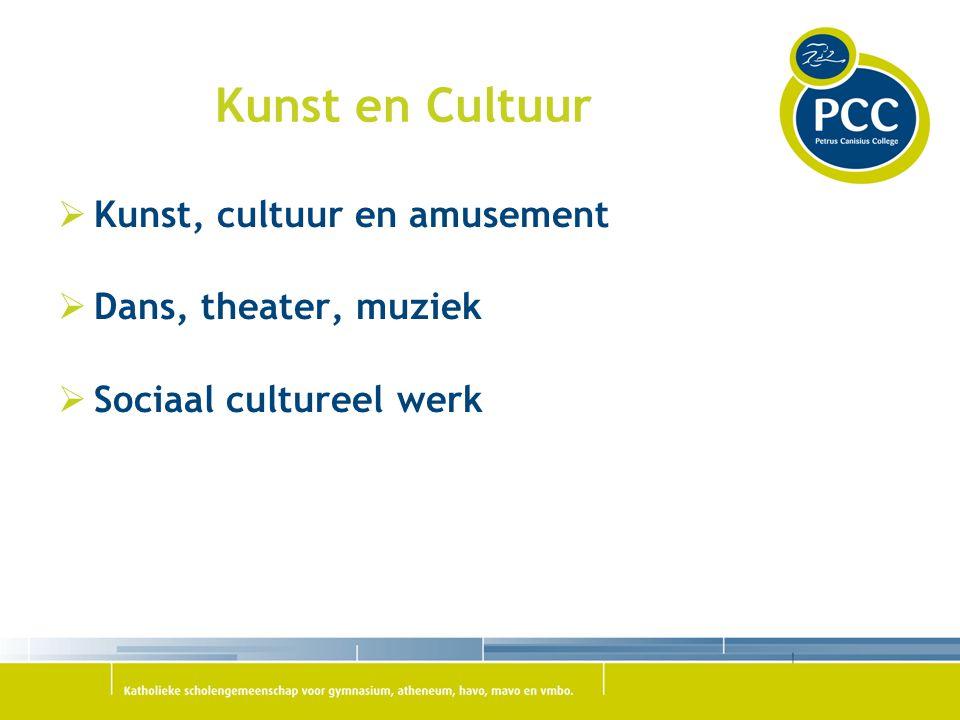 Kunst en Cultuur  Kunst, cultuur en amusement  Dans, theater, muziek  Sociaal cultureel werk