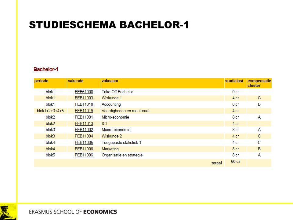 STUDIESCHEMA BACHELOR-1