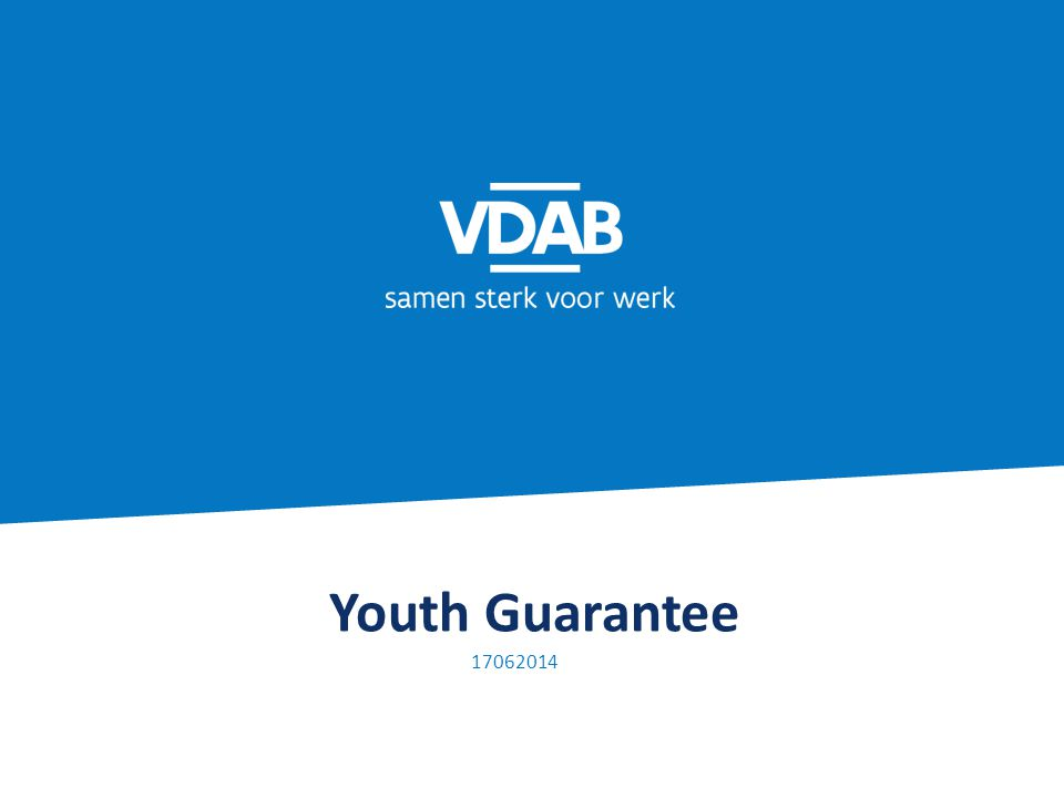 Youth Guarantee 17062014