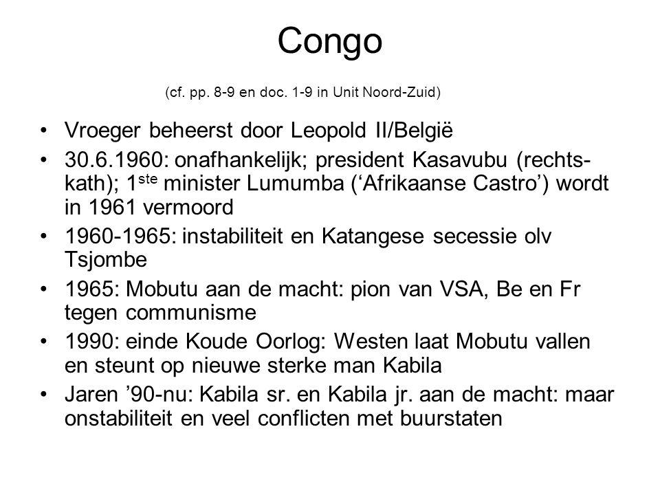 Congo (cf.pp. 8-9 en doc.