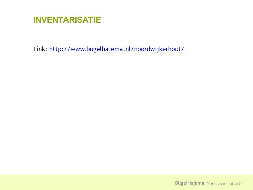 Link: http://www.bugelhajema.nl/noordwijkerhout/http://www.bugelhajema.nl/noordwijkerhout/ INVENTARISATIE