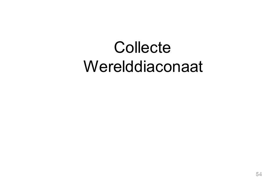 54 Collecte Werelddiaconaat