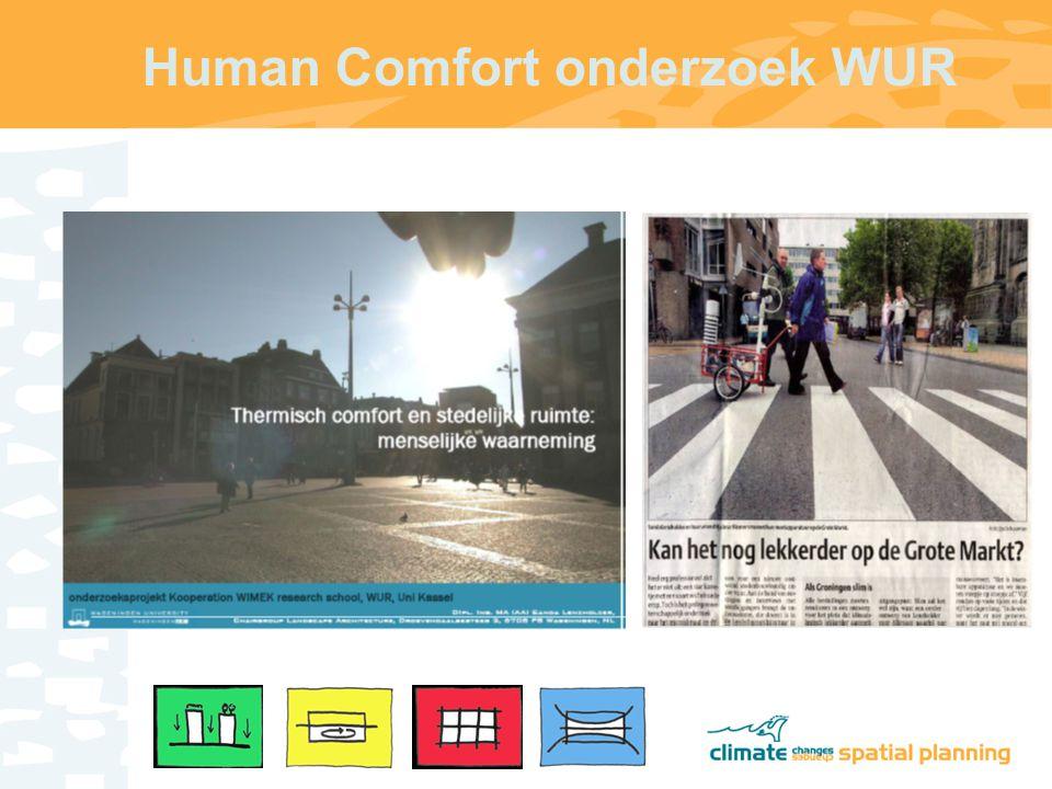 Human Comfort onderzoek WUR