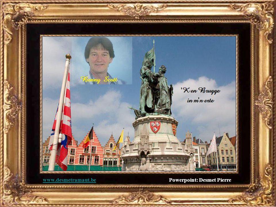 'K en Brugge in m'n erte, de schonste stad van 't land.