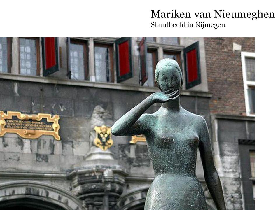 Mariken van Nieumeghen Standbeeld in Nijmegen