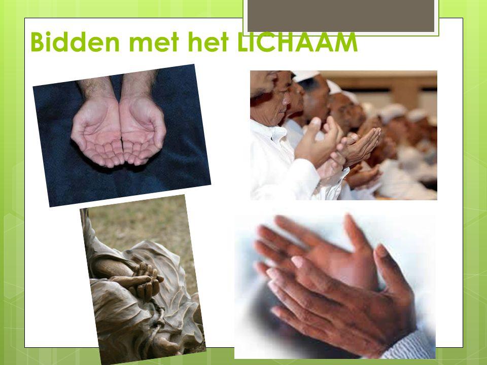 Bidden met het LICHAAM