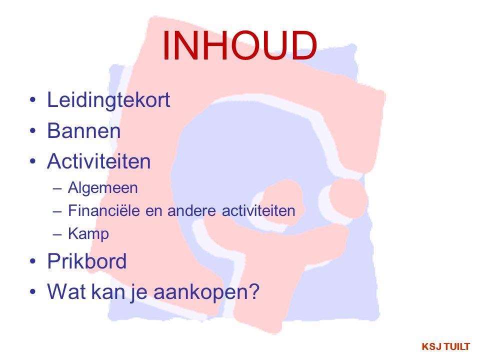 KAMP KSJ TUILT In juli 2015 gaan we op kamp naar:Boortmeerbeek De joro's, knimmers en sjo'ers gaan van 1 tot 10 juli.