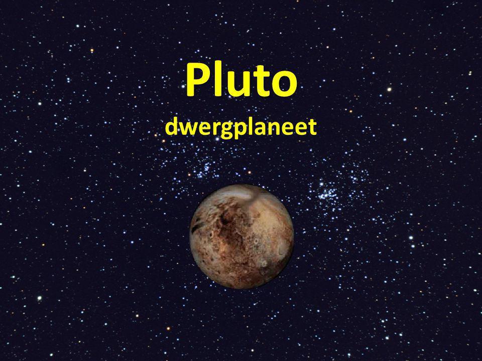 Dwergplaneet (sinds 2006) Waarom is Pluto geen planeet.