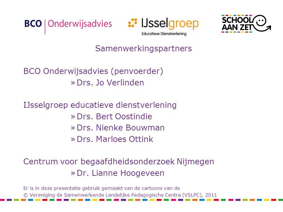 Samenwerkingspartners BCO Onderwijsadvies (penvoerder) »Drs.