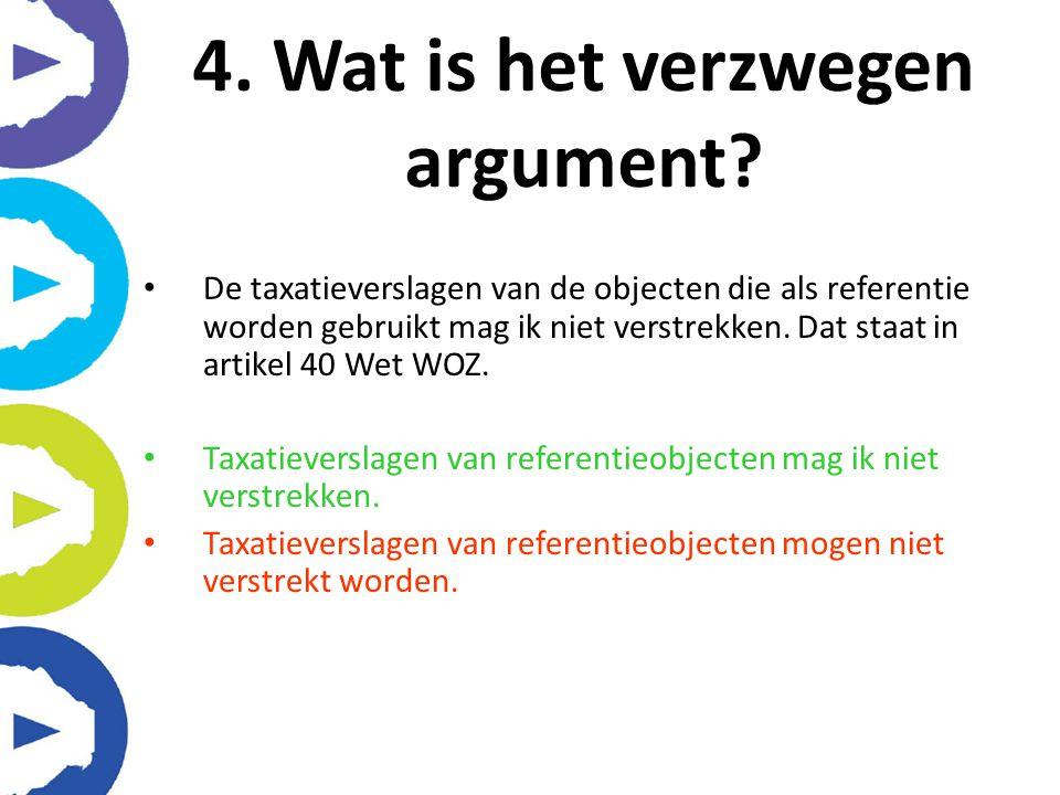 De taxatieverslagen van de objecten die als referentie worden gebruikt mag ik niet verstrekken. Dat staat in artikel 40 Wet WOZ. Taxatieverslagen van