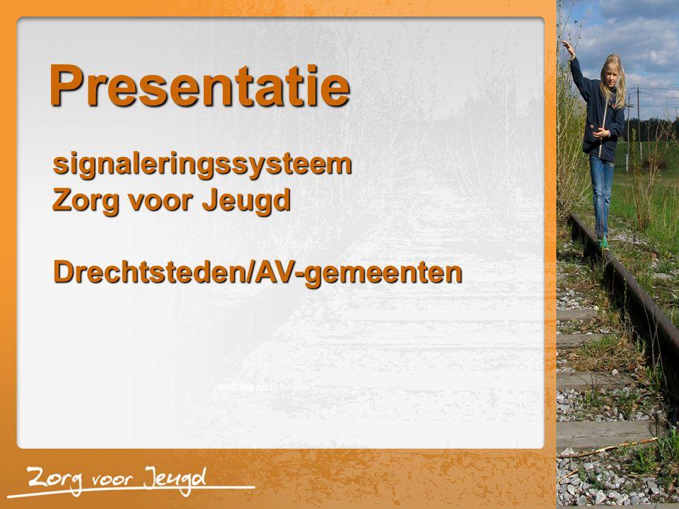 Presentatie Woltring en Schaeffers signaleringssysteem Zorg voor Jeugd Drechtsteden/AV-gemeenten