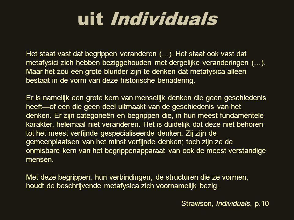 uit Individuals Het staat vast dat begrippen veranderen (…).