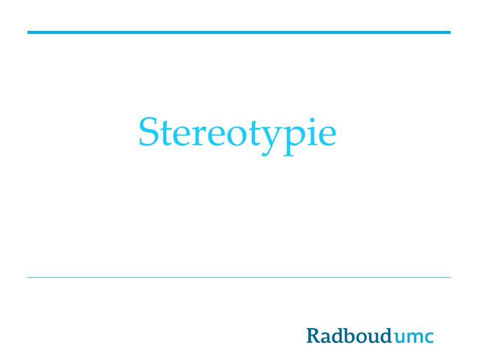 Stereotypie