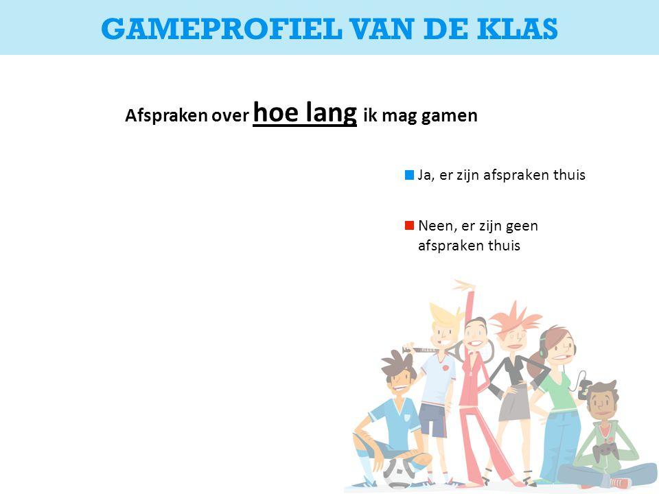 GAMEPROFIEL VAN DE KLAS