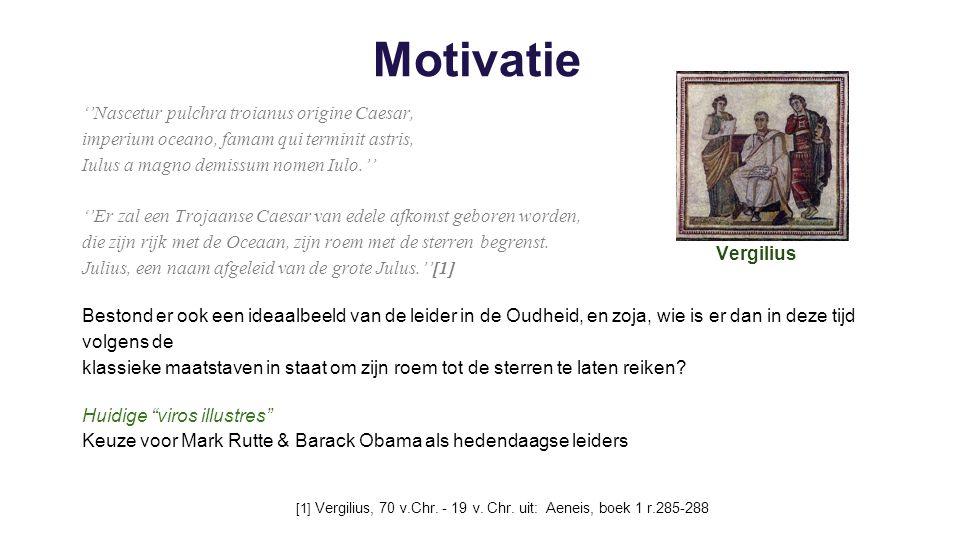 Welke eigenschappen in een leider worden er in klassieke werken zoals Suetonius ''De vita Caesarum'' geprezen en welke worden er afgekeurd.
