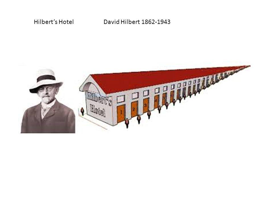 Hilbert's Hotel David Hilbert 1862-1943