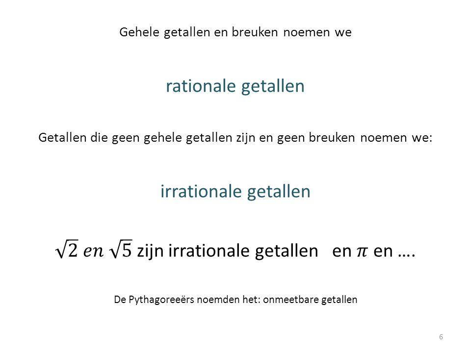 Opdracht 12 a.Er zijn evenveel even getallen als oneven getallen b.