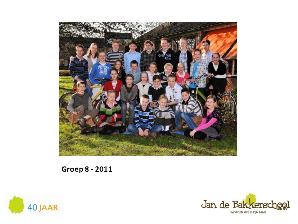 Groep 8 - 2011