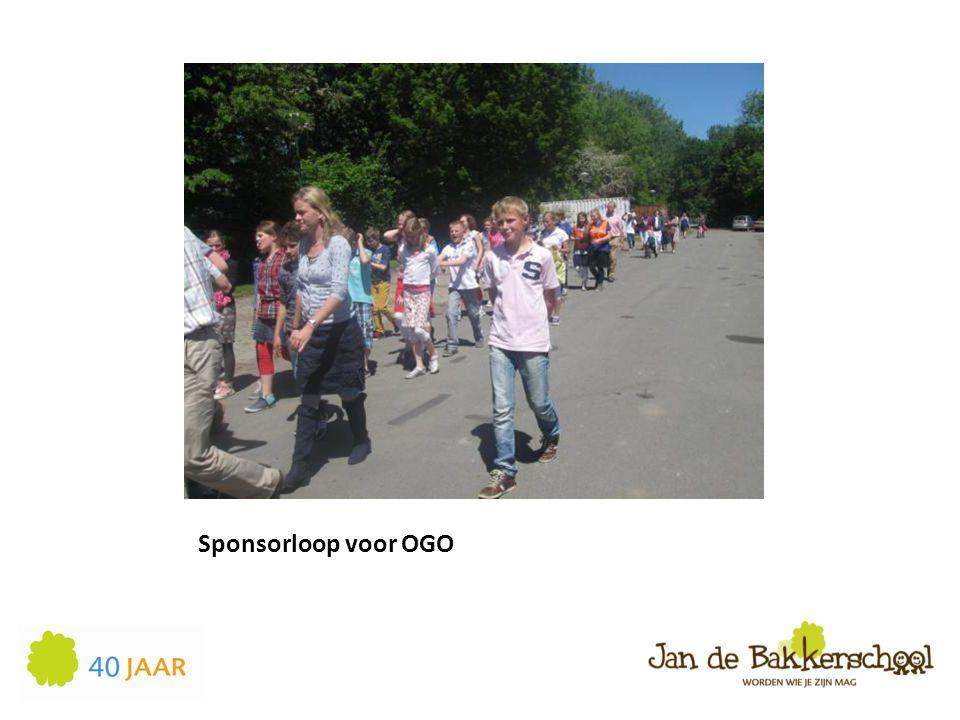 Sponsorloop voor OGO