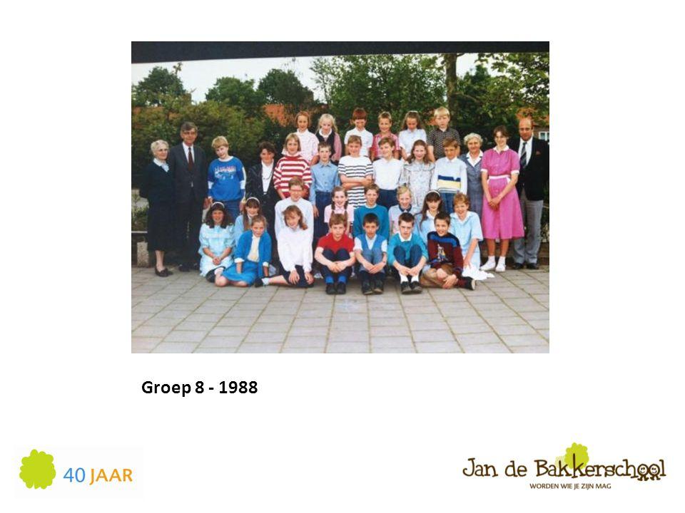 Groep 8 - 1988