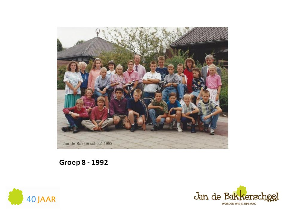 Groep 8 - 1992
