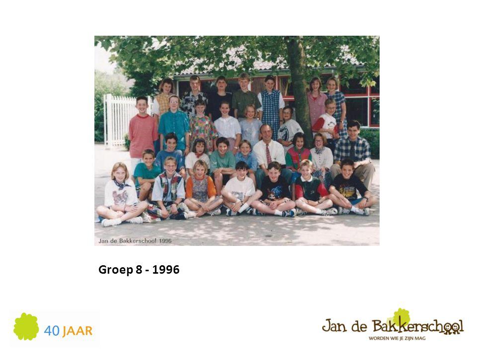 Groep 8 - 1996