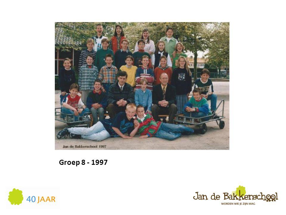 Groep 8 - 1997