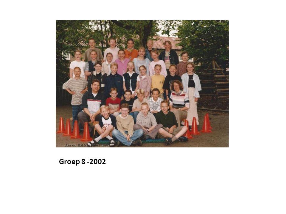 Groep 8 -2002