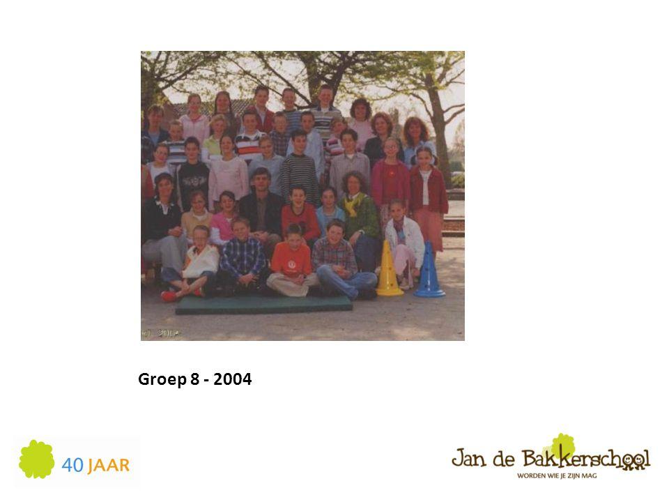 Groep 8 - 2004