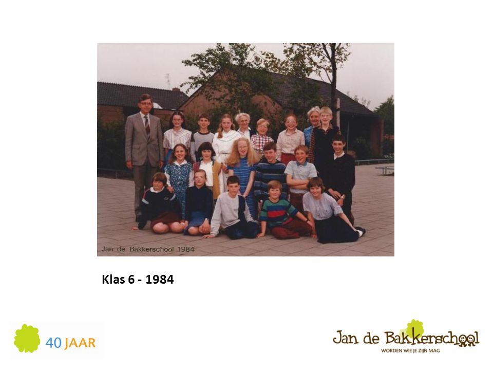 Klas 6 - 1984