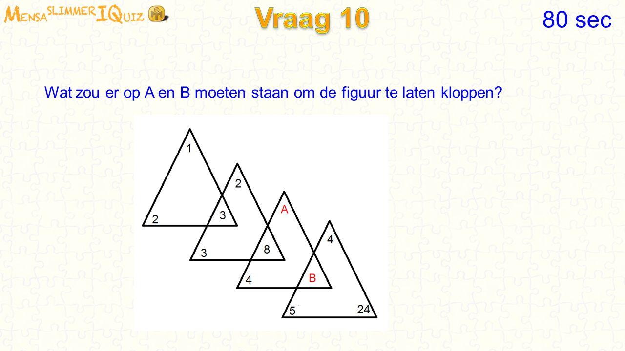 De truc was: 3 x 2 en 4 x 4, dat is samen 22 Dan moet je dus 1 x 3 en 2 x 2 en 4 x 1 doen, totaal 11 60 sec