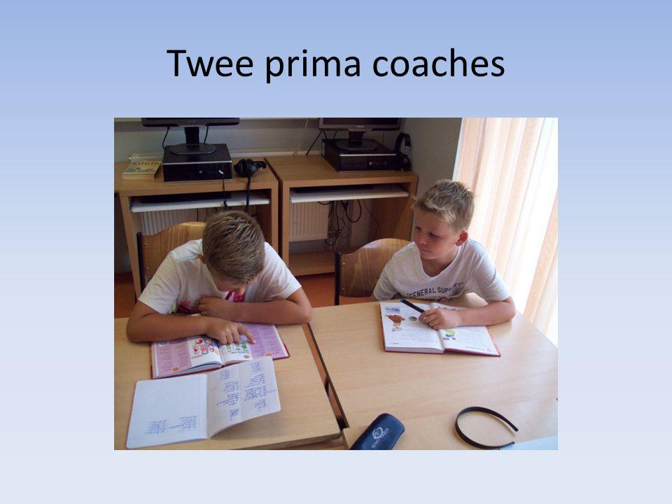 Twee prima coaches