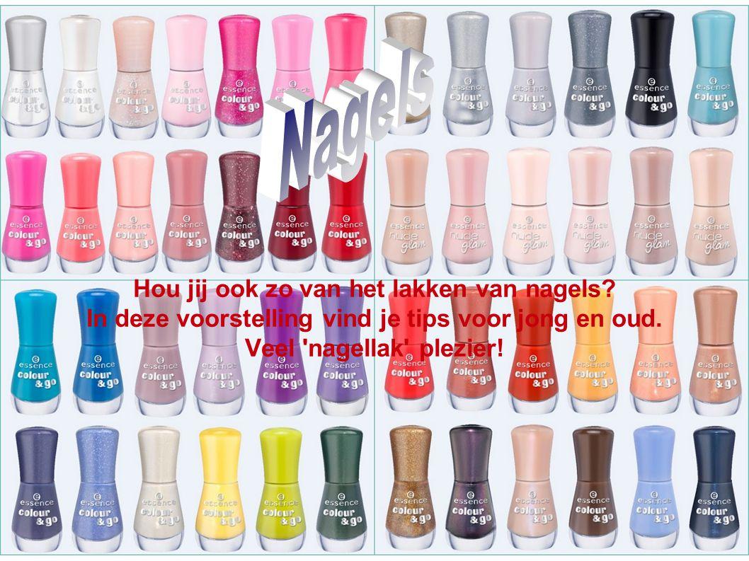 Hou je meer van drukke nagels of ben je simpel? A)B) C)D)