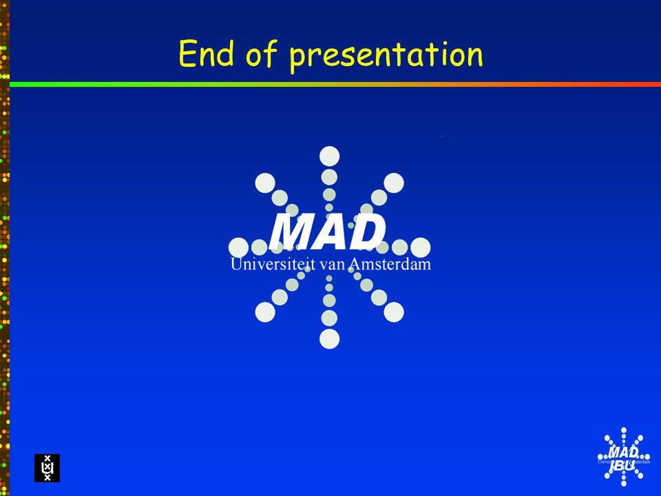 IBU End of presentation