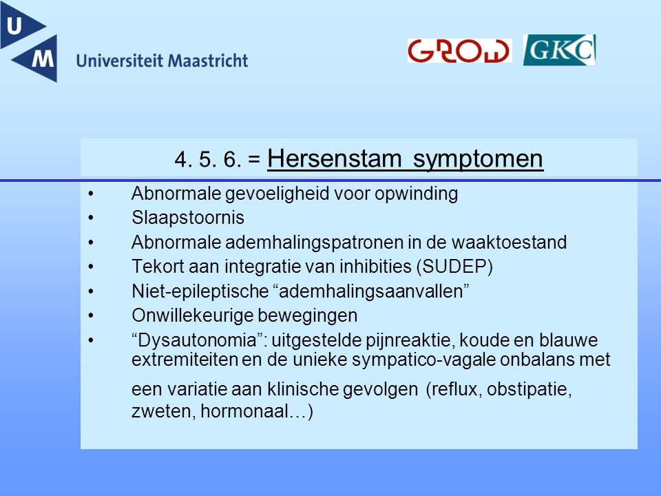 Management strategie Vroege diagnose .Communicatie.