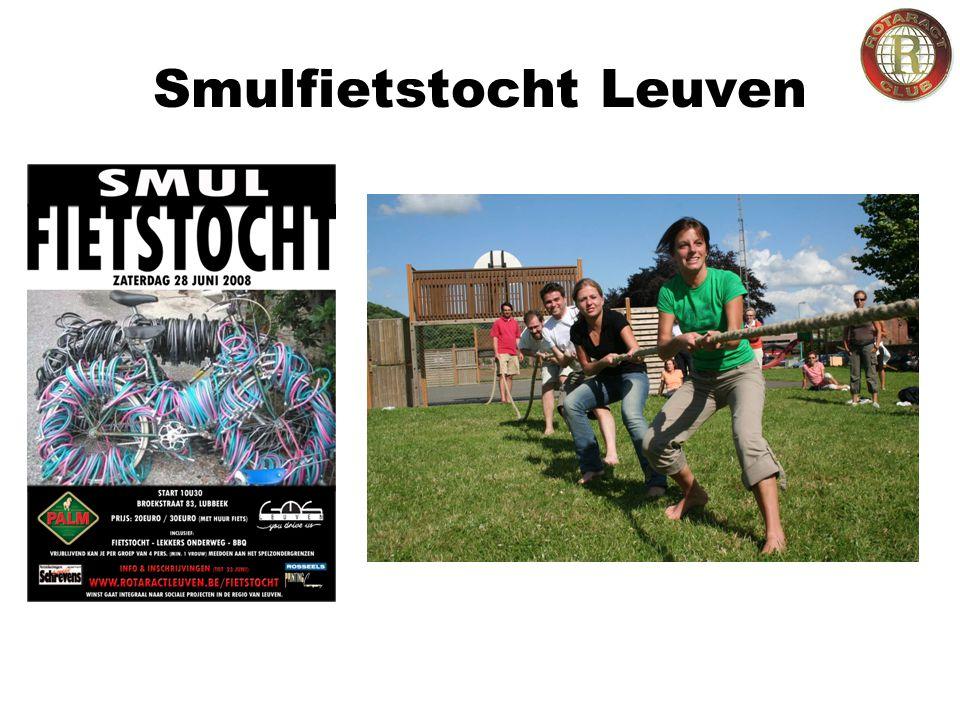 Smulfietstocht Leuven