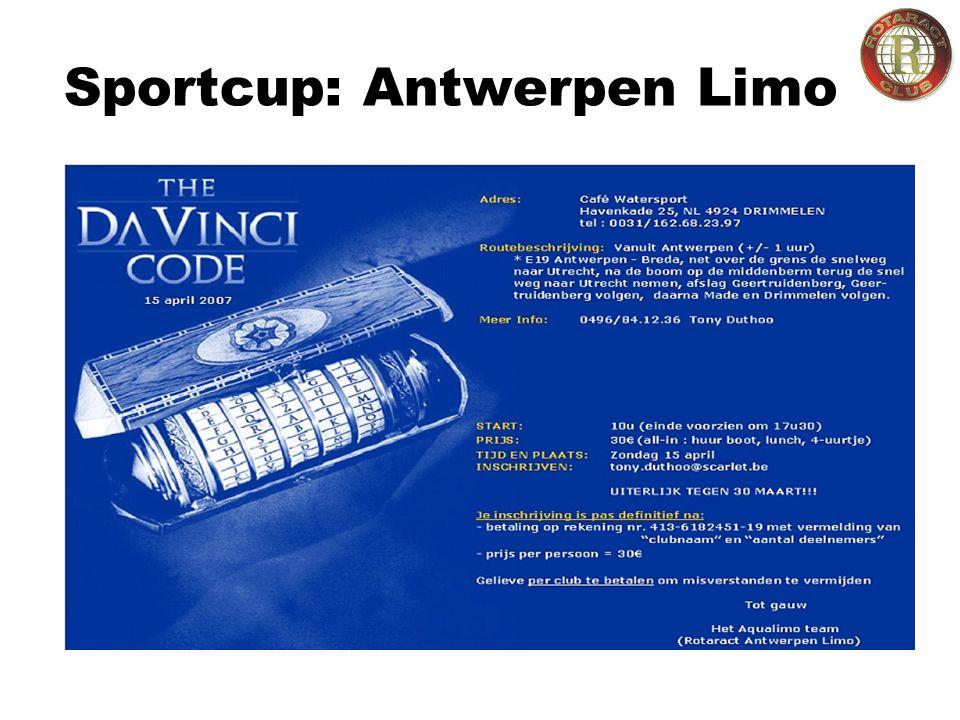 Sportcup: Antwerpen Limo