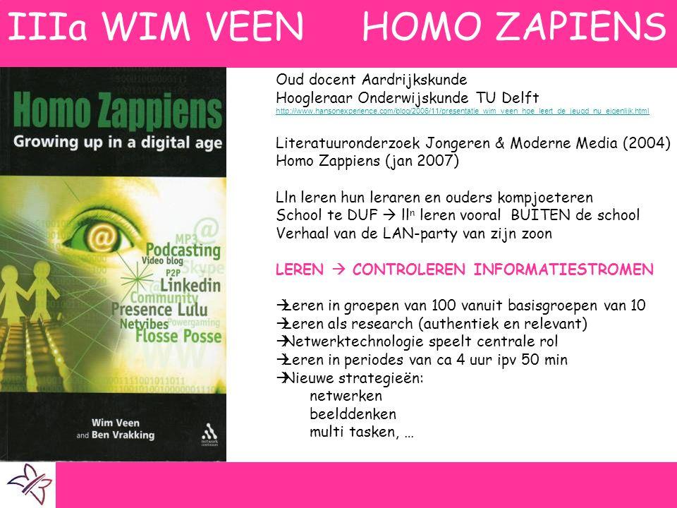 Oud docent Aardrijkskunde Hoogleraar Onderwijskunde TU Delft http://www.hansonexperience.com/blog/2006/11/presentatie_wim_veen_hoe_leert_de_jeugd_nu_e