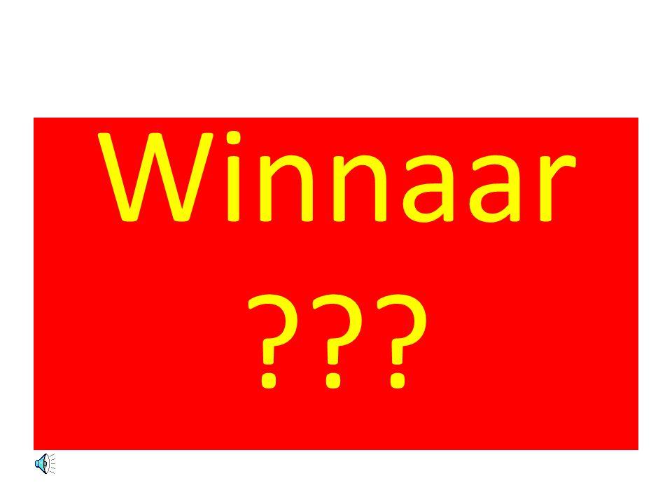 Winnaar ???