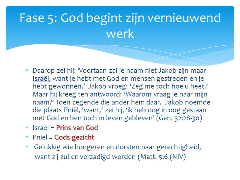 Israël  Daarop zei hij: 'Voortaan zal je naam niet Jakob zijn maar Israël, want je hebt met God en mensen gestreden en je hebt gewonnen.' Jakob vroeg