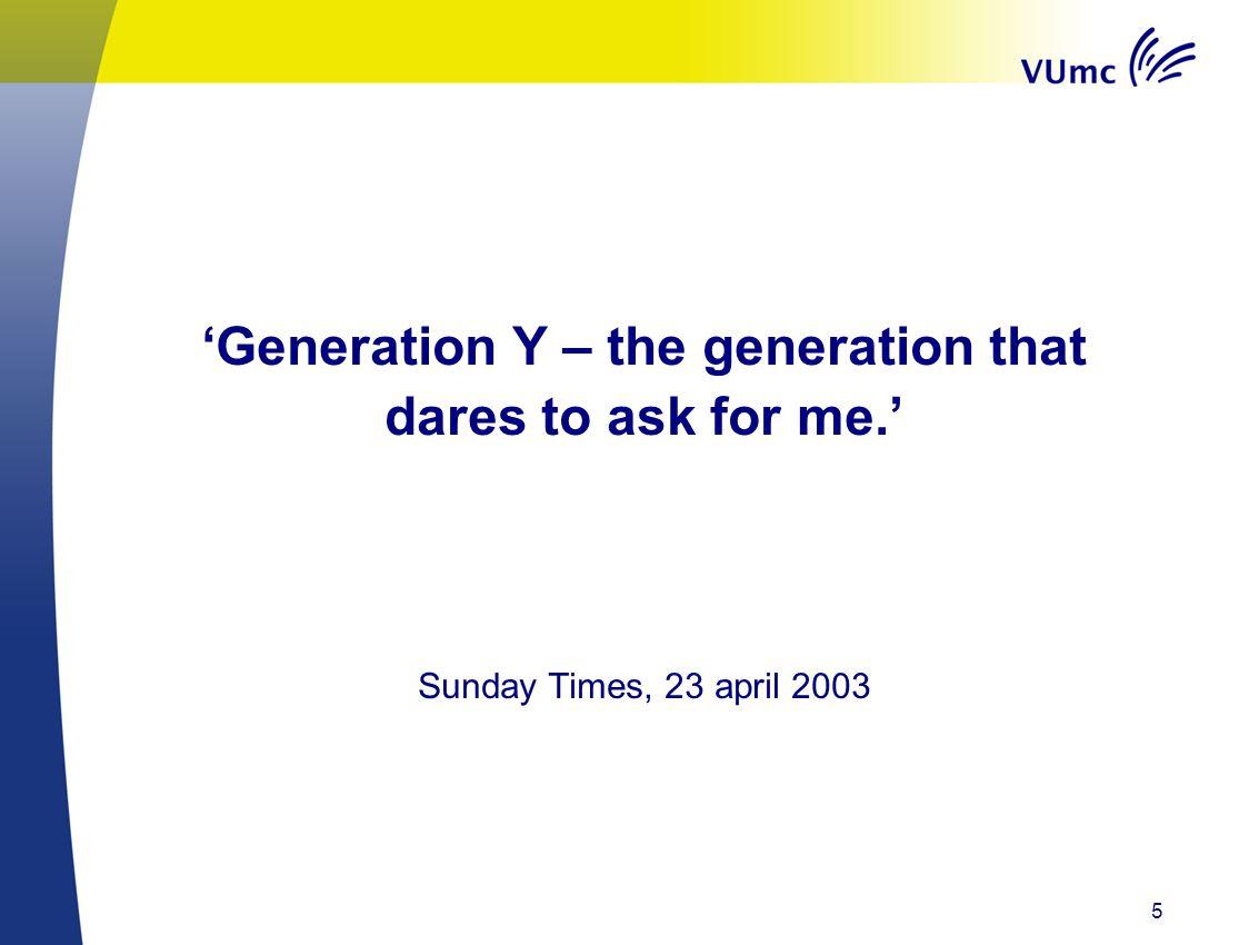 Generatie X. 16