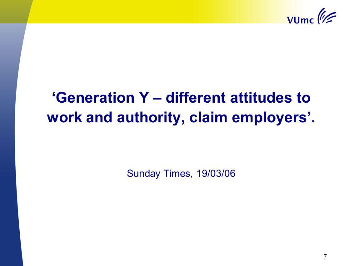 Generatie Y. 18