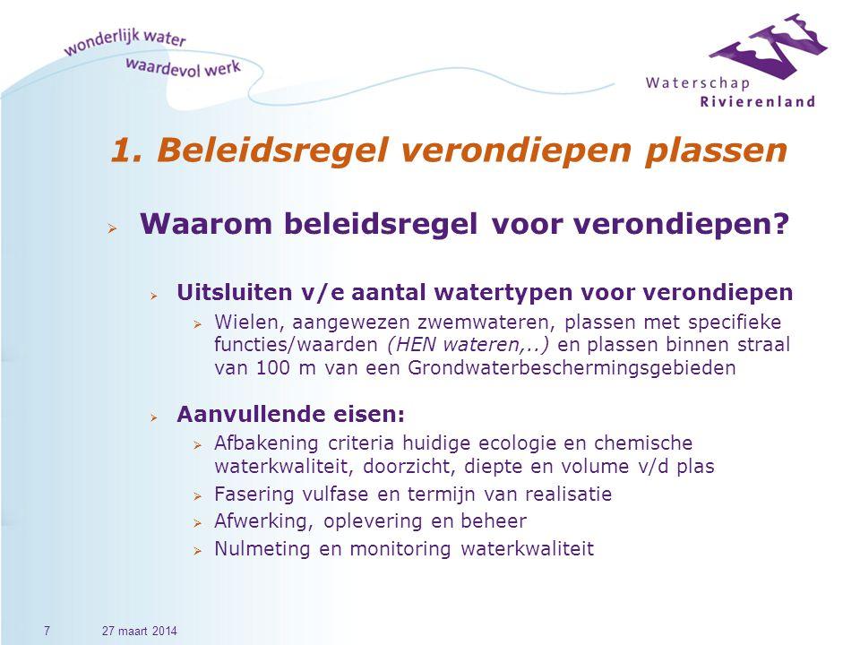 Einde Bbk presentatie 2827 maart 2014 f.timmermans@wsrl.nl c.bouwman@wsrl.nl Vergunningverlening  Heeft uw organisatie eigen beleid opgesteld.