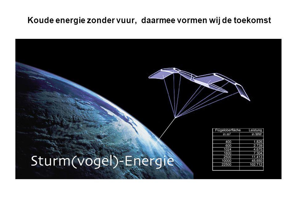 Koude energie zonder vuur, daarmee vormen wij de toekomst